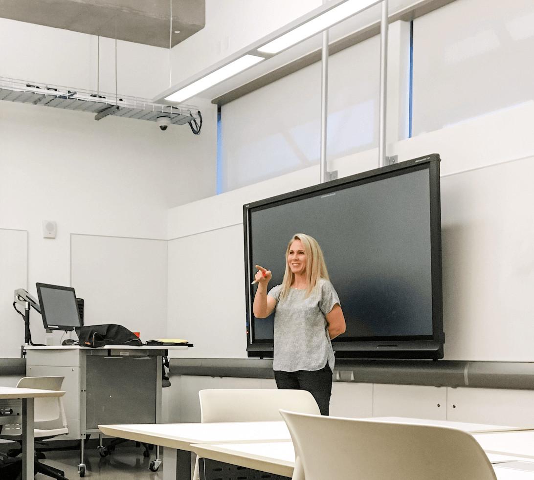 Danielle Teaching