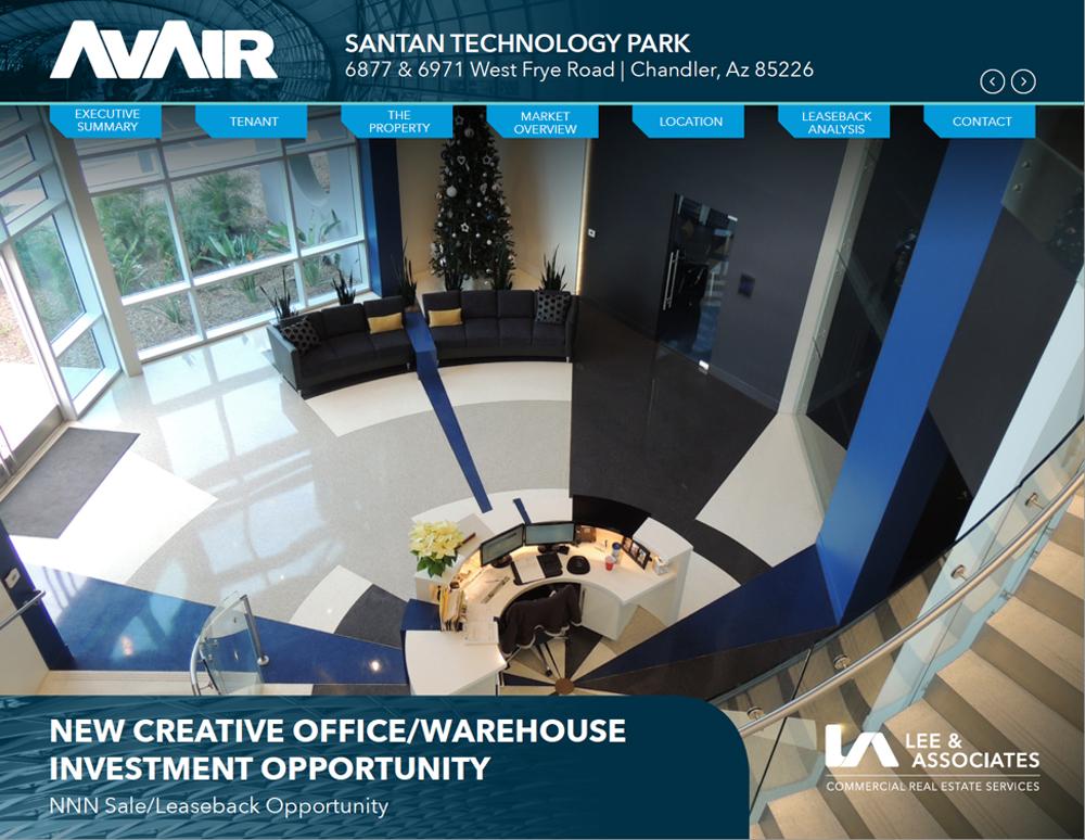 AvAir Interactive Brochure